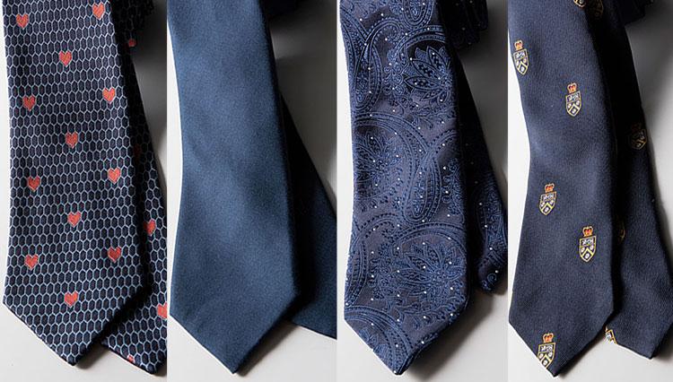 仕事相手の目に留まる「一流メゾンの紺ネクタイ」6選