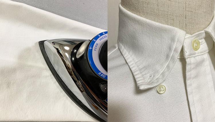 「自宅でシャツのアイロンがけ」10分で出来る手順をレクチャー!