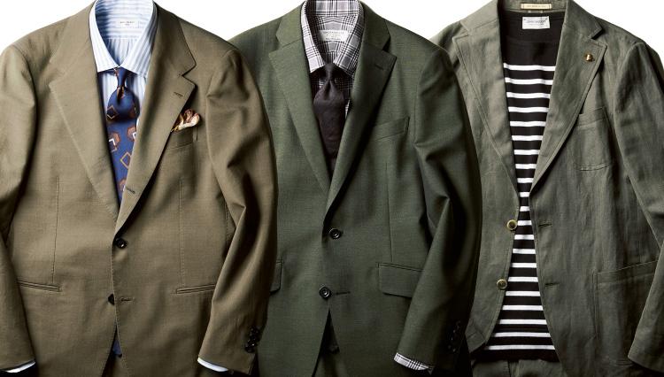 この春、取り入れると旬度倍増!「グリーンのスーツ&ジャケット」着こなし実例8選