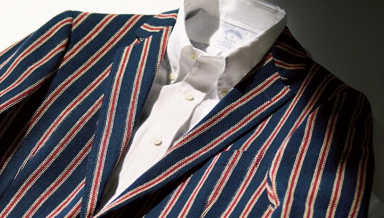ブルックス ブラザーズの休日ジャケットは、名優アラン・ドロンのように着こなしたい