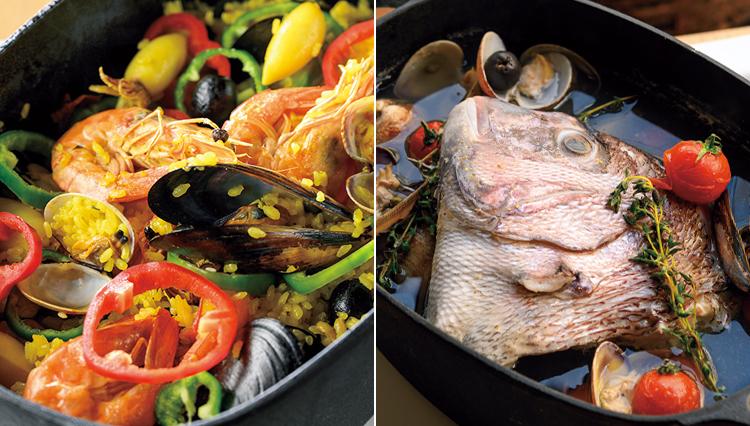 ダッチオーブンで作るアクアパッツァとパエリア【一流シェフの「キャンプ飯」料理帖】
