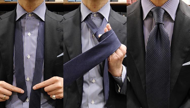 【ネクタイの結び方動画】Vol.2「ダブルノット」を作ってみよう