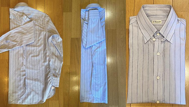 「シャツをきれいに畳むコツ」知っていますか?