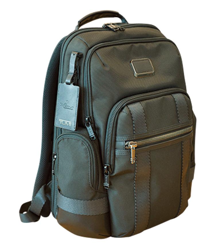 <p>通勤鞄は昔からリュック型を愛用。</p>