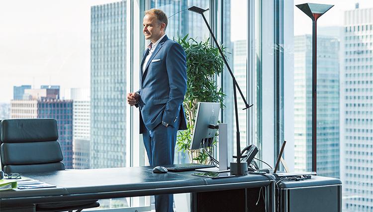 BMWジャパンの社長がこだわったオフィス執務室の条件とは?