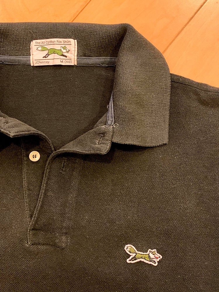 <p>ポロシャツの王道的、鹿の子素材。着こむと自然に襟回りにも味が出る。</p>