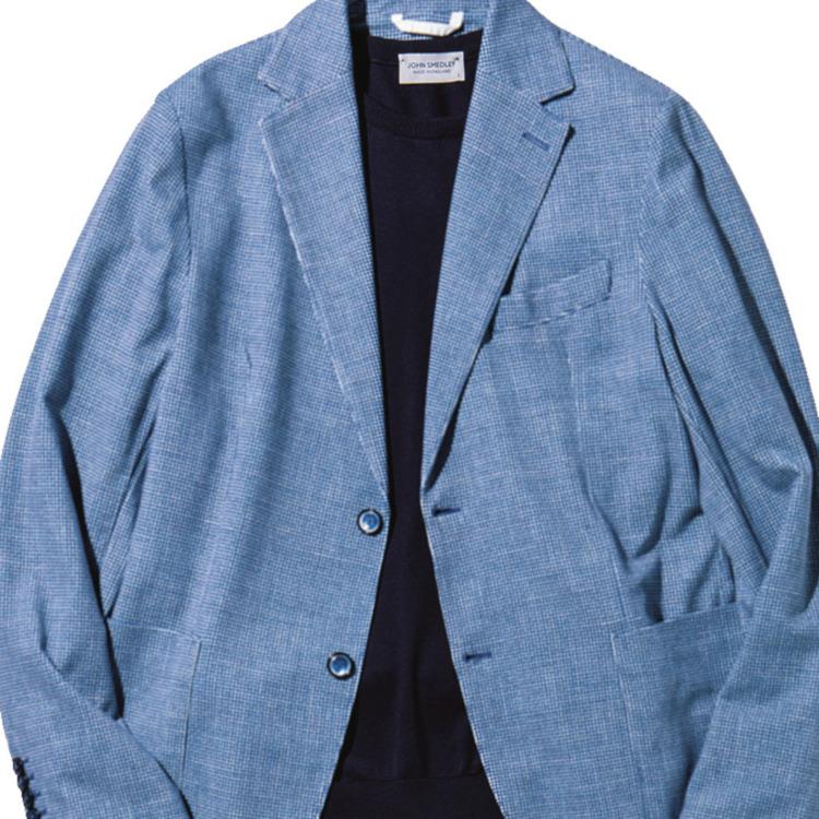 シンプルかつ上品に見える休日ジャケットの着こなしは?【1分で出来る胸元お洒落】