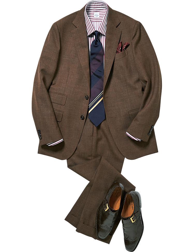 パネルタイとスーツ
