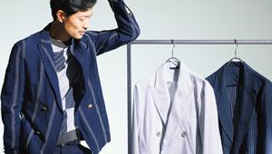 「ファッションには夢がある」と思わせてくれる、アルマーニのダブルジャケット