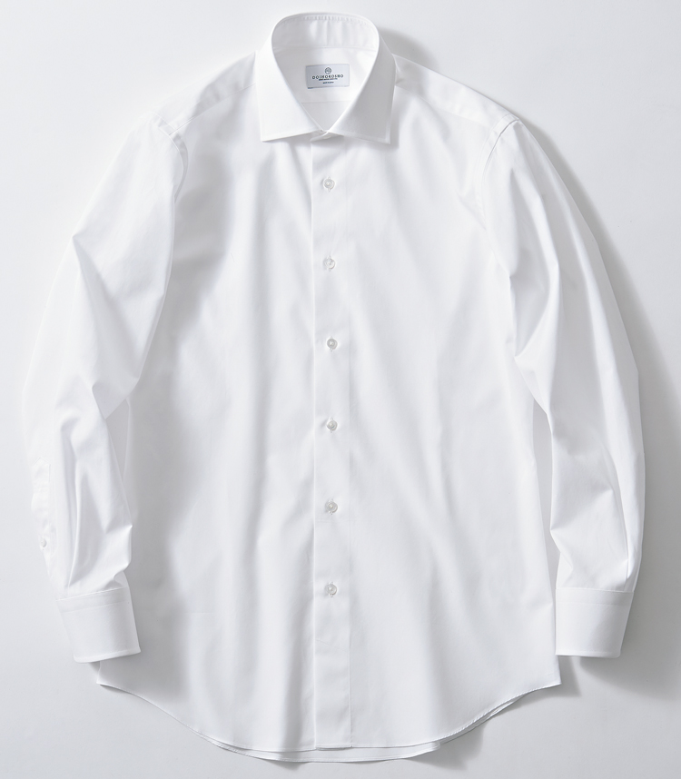 シャツの襟型