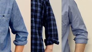 「カジュアルシャツの袖まくり3種類」手順を覚えて、即お洒落に!