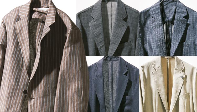 この夏、買うべき「快適ジャケット」5選を編集部員が比較してみた!