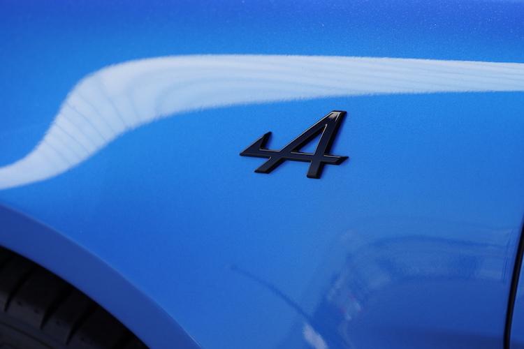 アルピーヌ「A110S」のエンブレム