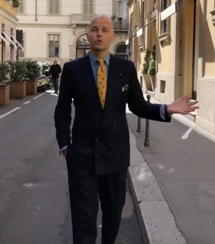 デニム シャツ スーツ