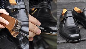 久々の通勤前に「仕事用のドレス靴」を7ステップで簡単ケア!