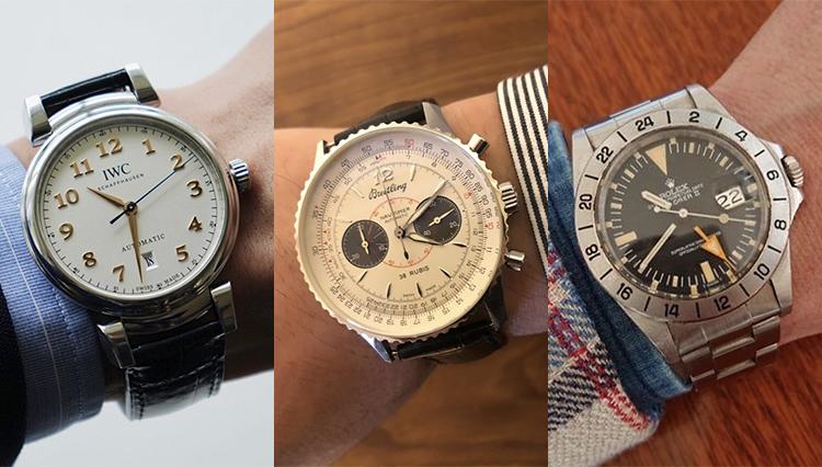 「愛用時計は何ですか?」シップスの皆さんの腕元をチェック!