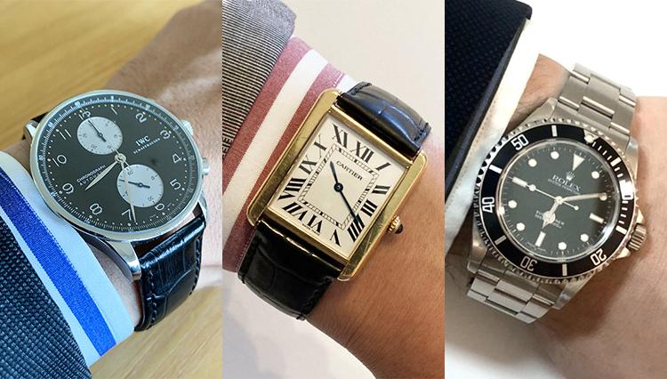 「愛用時計を見せてください!」バーニーズ ニューヨークの皆さんの腕元をチェック!