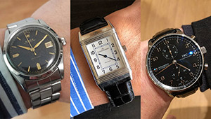 「愛用時計は何ですか?」ストラスブルゴの皆さんの腕元をチェック!