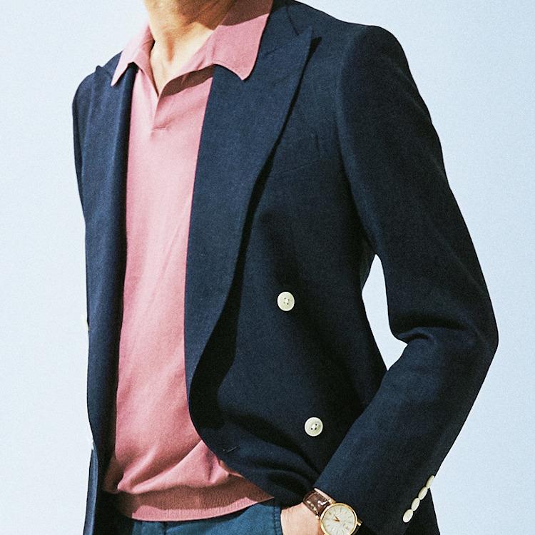 「40代メンズ」こそ実はピンクが似合うワケ【1分で出来るスーツのお洒落】