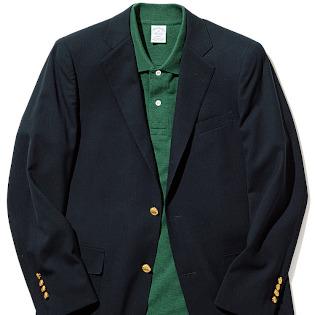 おじさんぽく見えない「紺ブレ×ポロシャツ」合わせ【1分で出来るスーツのお洒落】