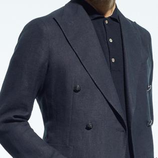 仕事で夏の「黒ジャケット」、こんな合わせならアリ!【1分で出来るスーツのお洒落】