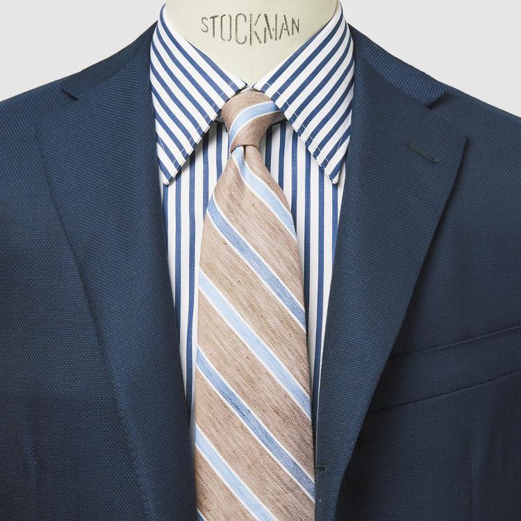 仕事服の基本「ストライプ柄」の正しい着こなし【1分で出来るスーツのお洒落】