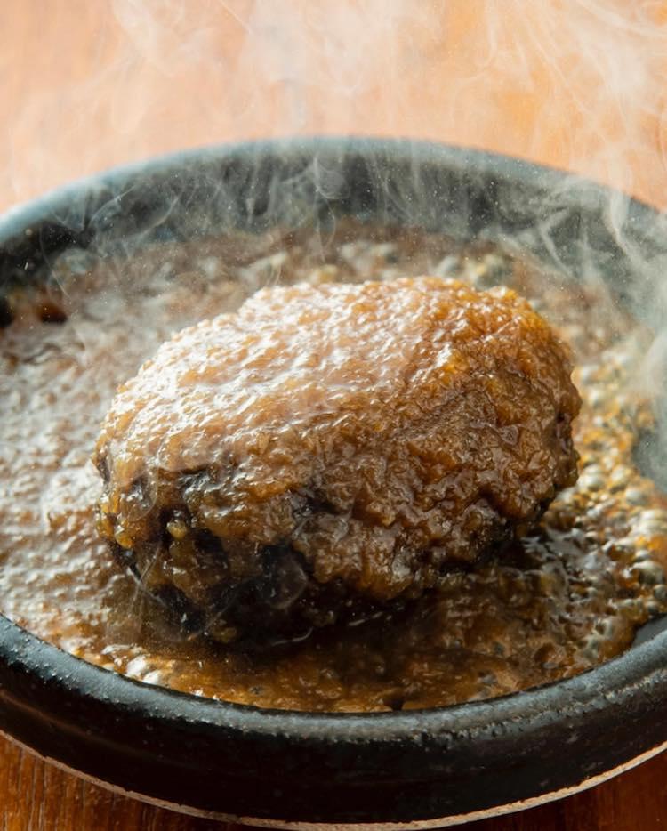 <p>ハンバーグ柚子胡椒風味</p>