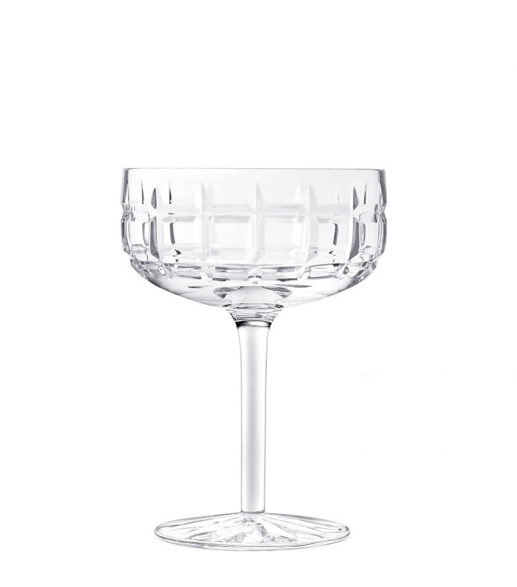 """<p>""""マティーニ""""や""""マンハッタン""""などショートカクテルに適したサイズのカクテルグラス。H132㎜×∅96㎜。200ml。2万2000円。</p>"""