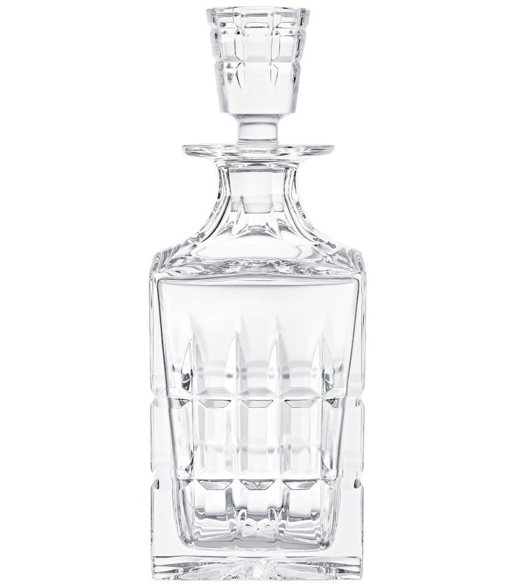 <p>非常に美しいデザインのウイスキーデキャンタ。好みのブレンデッドウィスキーを作るときにうってつけ。H239㎜。650ml。8万3000円。</p>