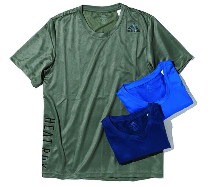 アディダスのHEAT RDY トレーニングシャツ