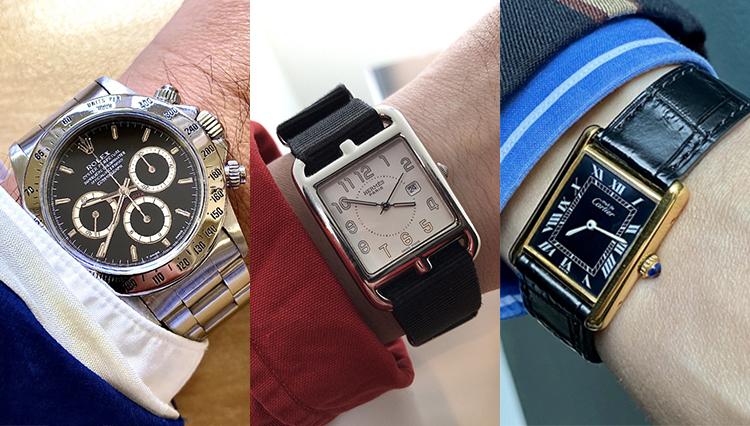 「愛用時計は何ですか?」トゥモローランドの皆さんの腕元をチェック!