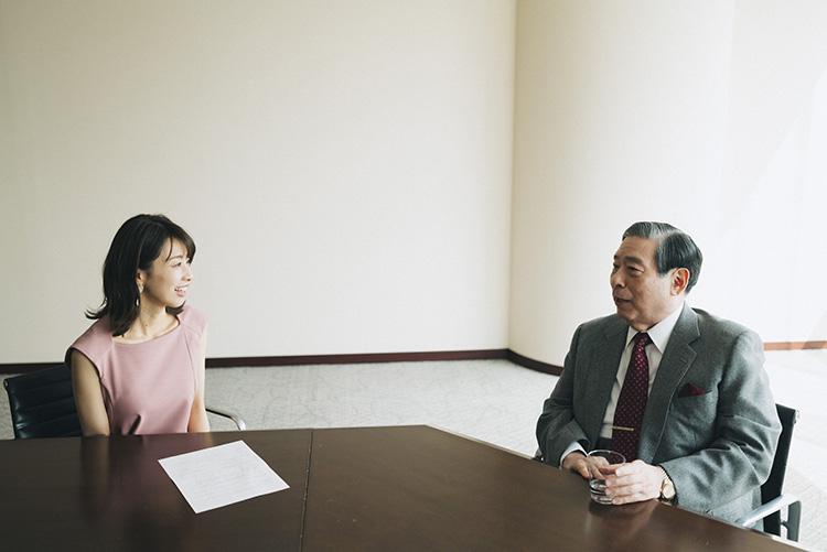加藤 綾子さん、北尾吉孝さん