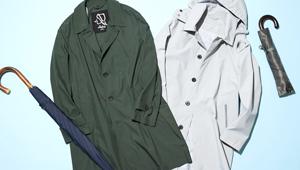大人メンズに似合う「レイングッズ」10選〜傘とコート〜