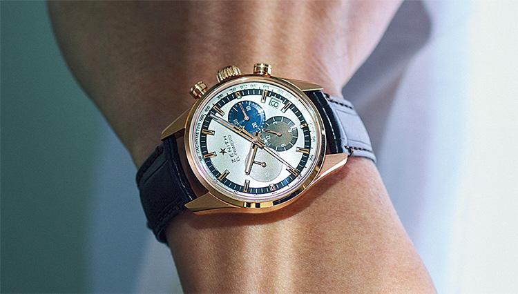 シャツイチにも似合う高級時計は、こんなタイプ!