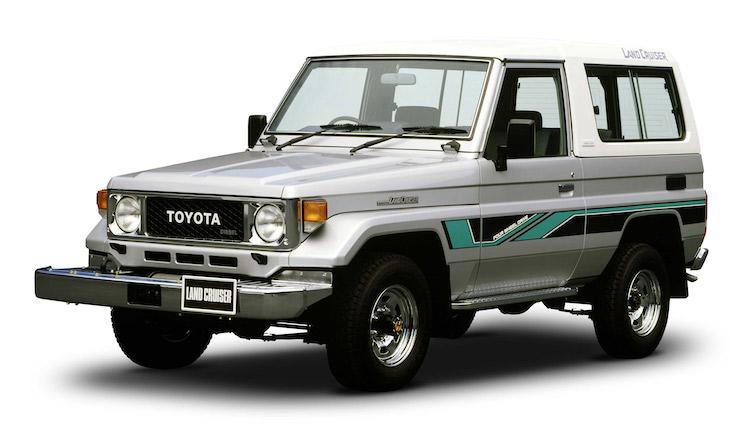 <p>1984年に40系の後継モデルとして登場した70系。業務用メインであった4輪駆動車の乗用車ニーズの高まりに応えるべく、スタイルや快適性の向上が図られている</p>