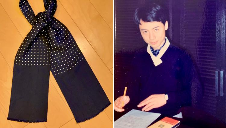 祖父や父に憧れて、ビームス中村さんが初めて買った「アスコットタイ」の話。