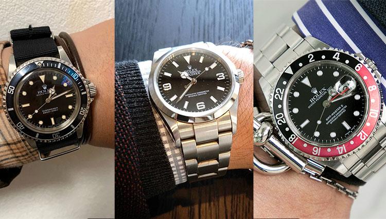 「ロレックス」の腕時計、今お洒落な人はどんなモデルをしている?