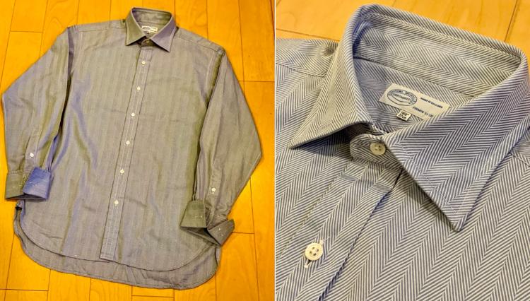 '90年代にビームス中村さんが惚れこんだ「知る人ぞ知る英国製シャツ」の話。