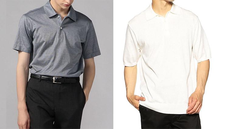 職場でポロシャツの裾は「イン」と「アウト」どっちが正解?