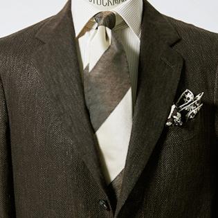 40代メンズはブラウンジャケットが仕事で重宝する?【1分で出来るスーツのお洒落】