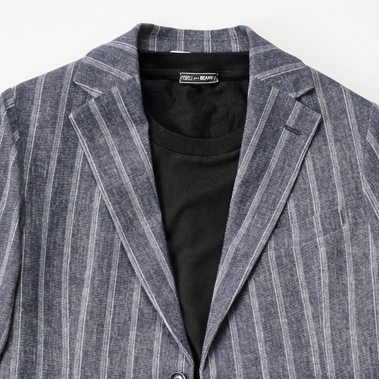 ノータイジャケットは「黒」で締めると上手くいく?【1分で出来るスーツのお洒落】