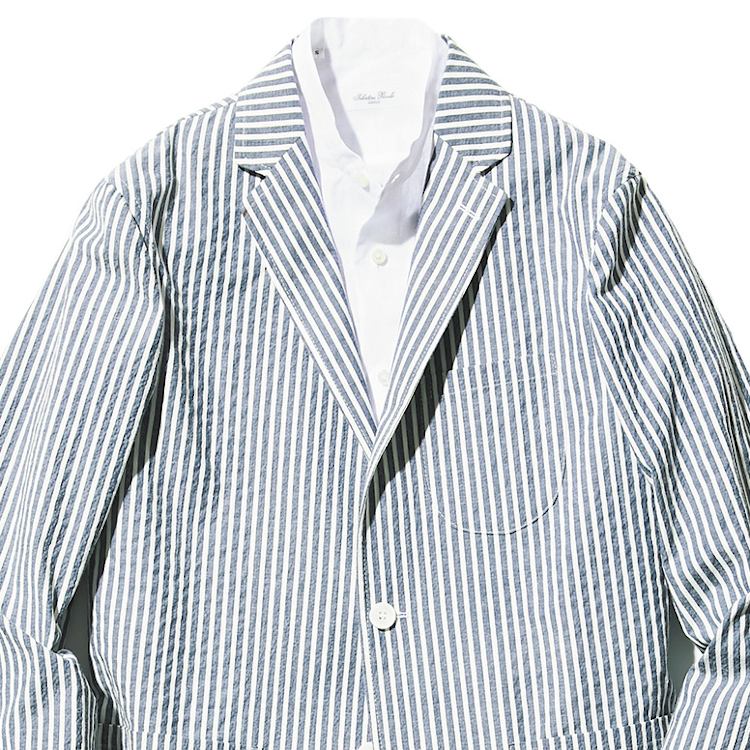 40代メンズの「夏ジャケット」は何を選べば正解?【1分で出来る胸元お洒落】