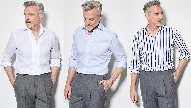 「1枚で着てもサマになるシャツ」は、この5型!