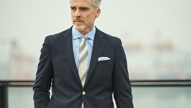 「ネクタイ着用がマストな日」涼感UPなコーディネートは?