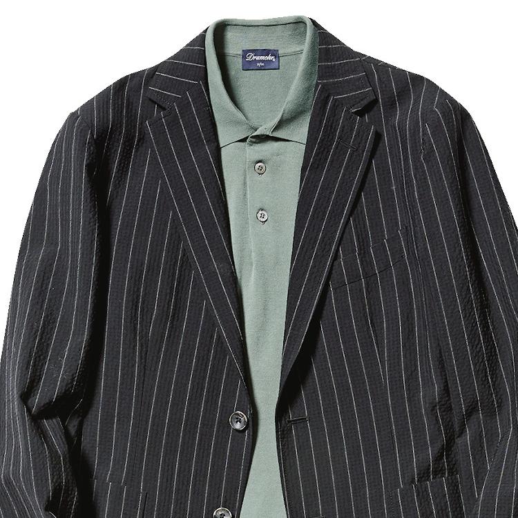 リクルートや礼服にならない「黒スーツ」の着方【1分で出来るスーツのお洒落】