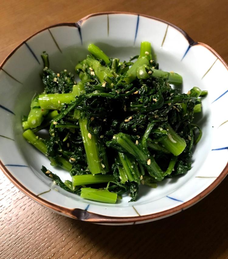 <p>9.食感の違う二種類の春菊、ぜひ楽しんで!</p>