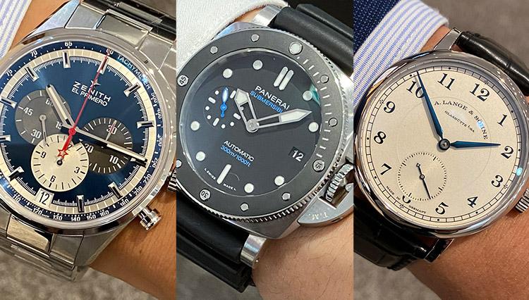 有名時計店で売れているブランドウォッチ全9本を腕に乗せて比べた【ISHIDA表参道編】