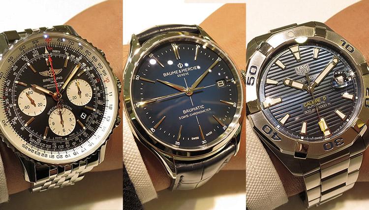 有名時計店で「売れ筋9本」を腕に乗せて比べた!【TANAKA ジュエリー&ウォッチ編】