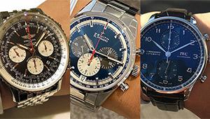 オン・オフ万能なクロノグラフの人気モデル、全国有力時計店で売れているのは?