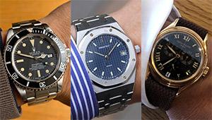 お洒落賢者の愛用時計は「人気時計ブランドの、このモデル」だった!